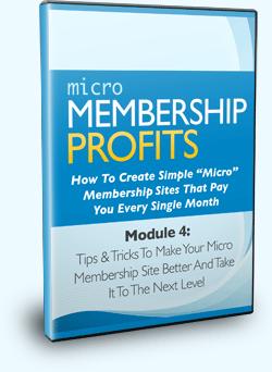 Micro Membership Profits Module 4