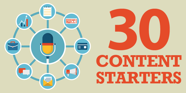 30 Content Starters
